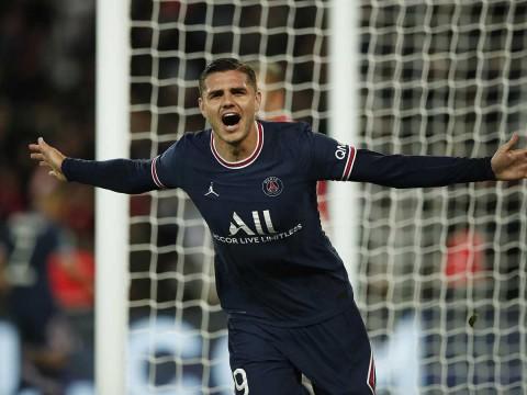 Mauro Icardi fue el héroe del PSG ante el Lyon. (Reuters)