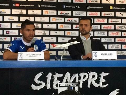 Liga MX: Joel Sánchez fue presentado oficialmente en el Querétaro