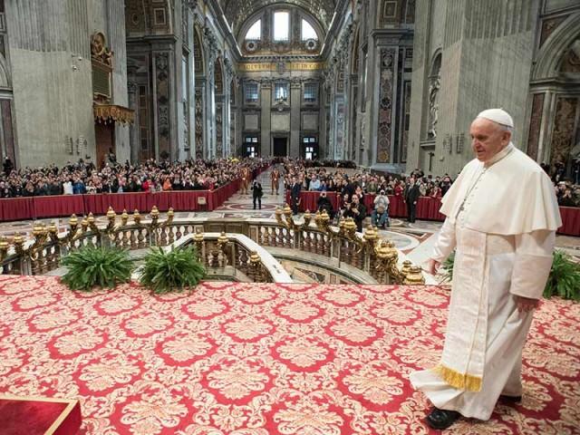 'Las mujeres son más valientes que los hombres', afirma Papa Francisco