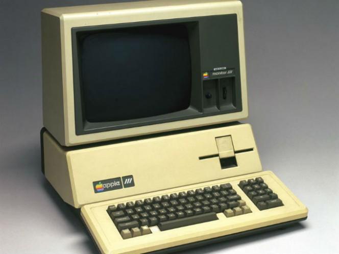 La Apple III vio la luz en 1980. Estaba pensada para los negocios pero fue un fracaso debido a varias fallas. Foto: Especial