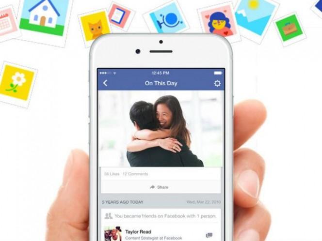 Facebook se pone nostálgico con 'Un día como hoy'. Foto Facebook