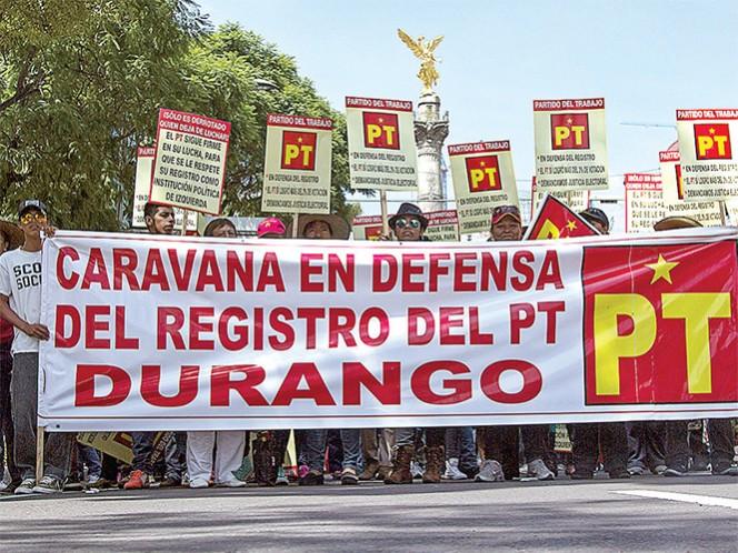 Niegan diputaciones plurinominales al Partido del Trabajo