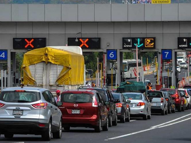 Suspenden cierres nocturnos en autopistas México-Puebla y México-Cuernavaca, caseta Tlalpan, hasta el próximo 3 de enero.