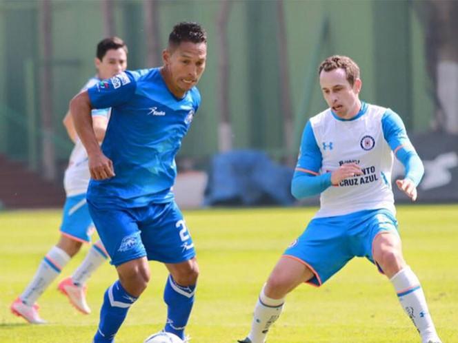 Cruz Azul recata el empate ante Celaya (Foto tomada del Facebook de Club Celaya FC)