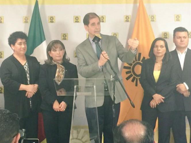 El líder nacional del sol azteca, Agustín Basave, dijo que hay avances en el diálogo para una alianza entre el PRD y el PAN (Foto: Especial)