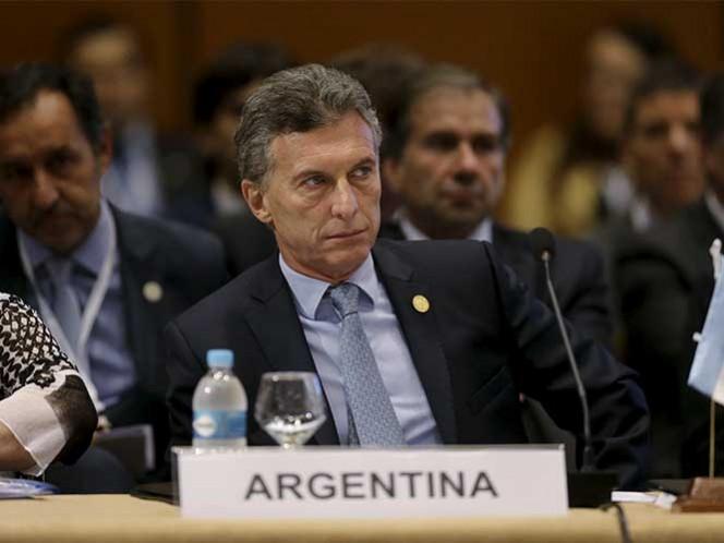 Pide Macri por libertad de presos políticos en Venezuela