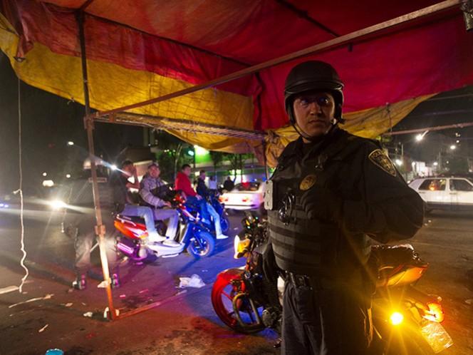 La SSPDF realiza acciones en diversas zonas para garantizar la seguridad durante las fiestas decembrinas.