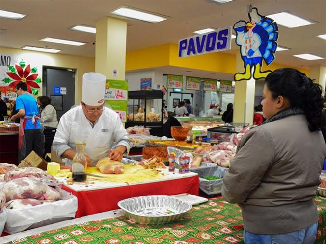 El pavo es uno de los productos más tradicionales en la cena navideña.