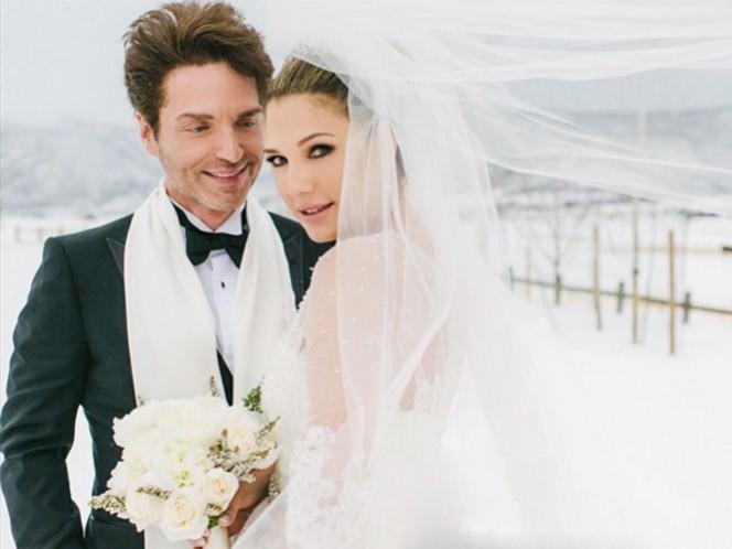 Marx estuvo casado previamente con la actriz y bailarina, Cynthia Rhodes, de 1989 a 2014; mientras que Fuentes fue esposa del actor y modelo, Timothy Adams, entre 1991 y 1995. (Instagram)