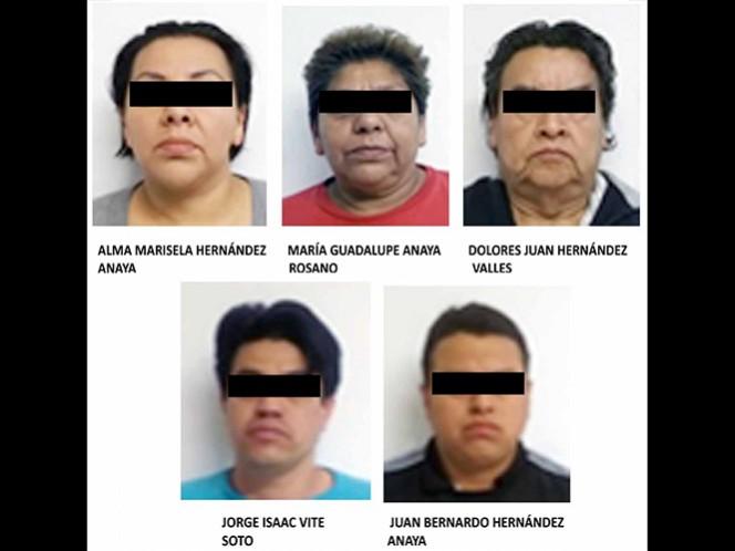 Los detenidos serán procesados por delitos contra la salud en su modalidad de narcomenudeo, hipótesis de posesión con fines de comercio.