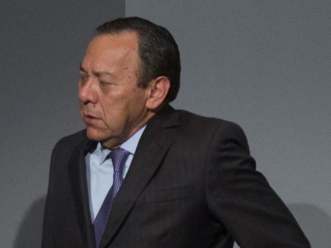 El presidente de la Cámara de Diputados, Jesús Zambrano