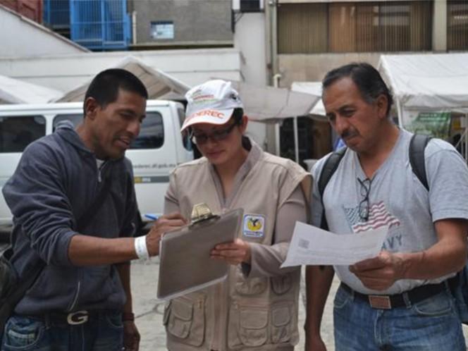 El Gobierno capitalino ha entregado mil 379 Tarjetas Sederec, principalmente a hombres.