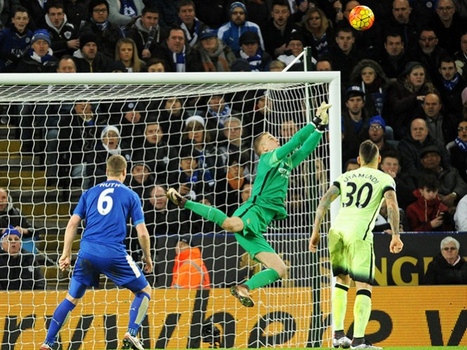 Leicester y Manchester City igualan 0-0 (AP)