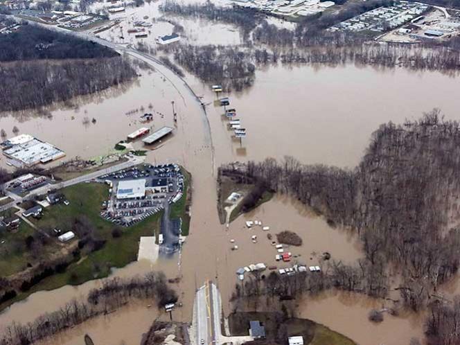 Declara Obama 'situación de desastre' en Oklahoma por temporal