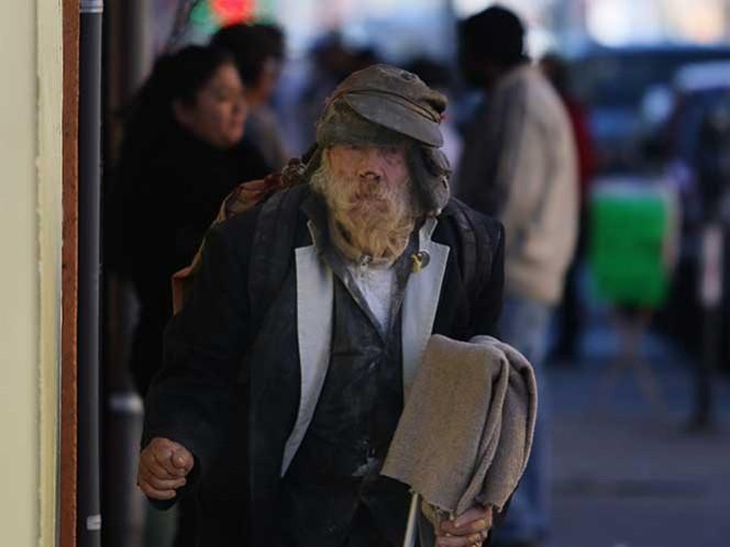 El frente frío número 25 que afecta el Norte de México ocasionó bajas temperaturas para la ciudad, la temperatura máxima registrada este día fue de 16 grados centígrados y la mínima de 3 grados. Fotografía: Cuartoscuro.