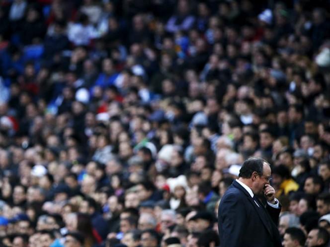 Rafa Benítez volvió a ser abucheado (Reuters)