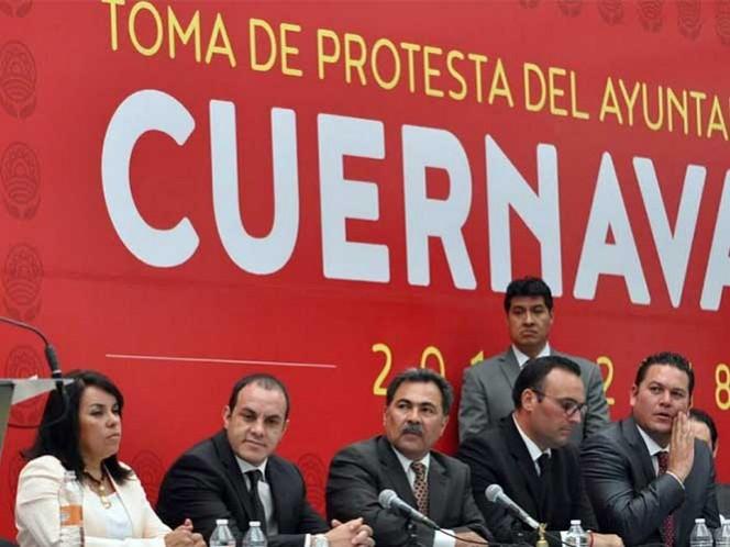 De acuerdo a Eduardo Bordonave, el ex futbolista y alcalde de Cuernavaca se reunió esta misma mañana con funcionarios federales para acordar medidas de protección policiaca.