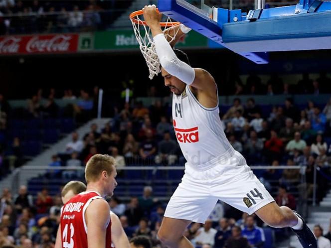 Real Madrid y Ayón sufren en el Top16 (Foto tomada de www.realmadrid.com)