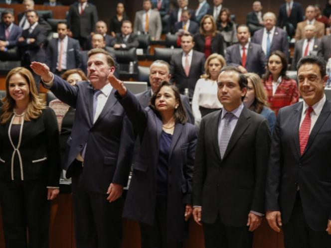 Norma Lucía Piña Hernández y Javier Laynez Potisek, tomarán este martes posesión de sus cargos como ministros (Foto: Cuartoscuro)