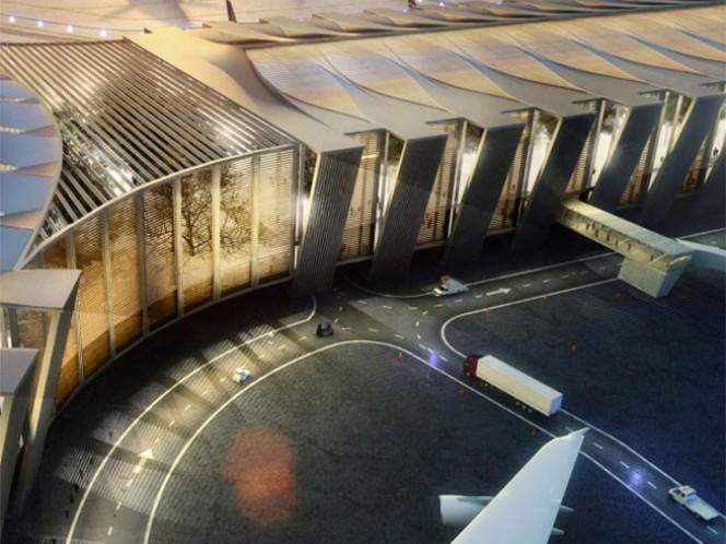 El Grupo Aeroportuario de la Ciudad de México (GACM) licitará este año 10 paquetes de obras para la construcción del Nuevo Aeropuerto Internacional de la Ciudad de México (NAICM)