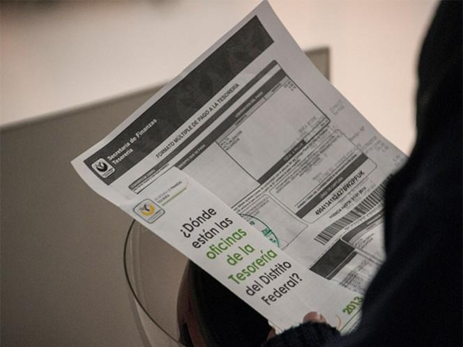 En el DF hay más de 7 mil puntos donde se puede realizar el pago del impuesto predial.