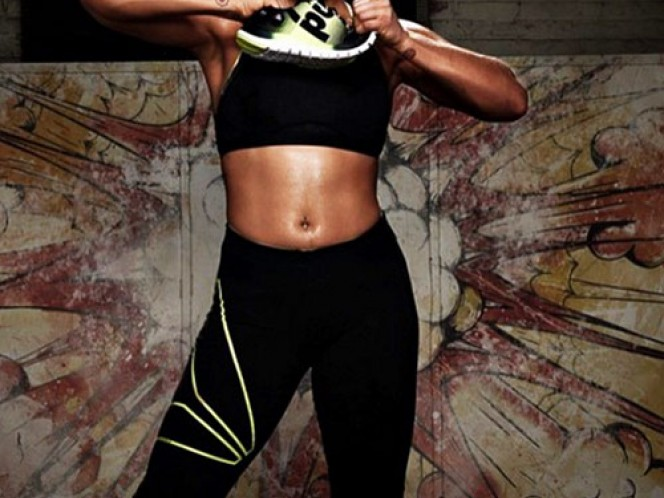 El 'body paiting' de Ronda Rousey (Foto tomada de Instagram rondarousey)