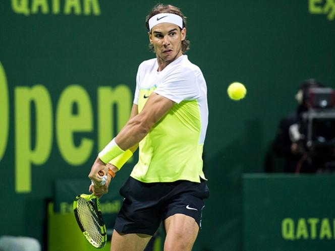 Nadal pasa apuros para estar en semifinales en Doha (AP)