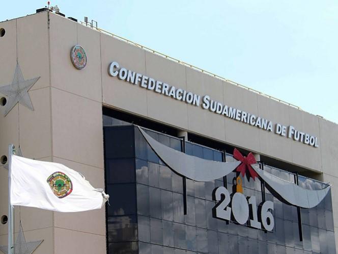 Autoridades paraguayas allanan sede de la Conmebol (EFE)