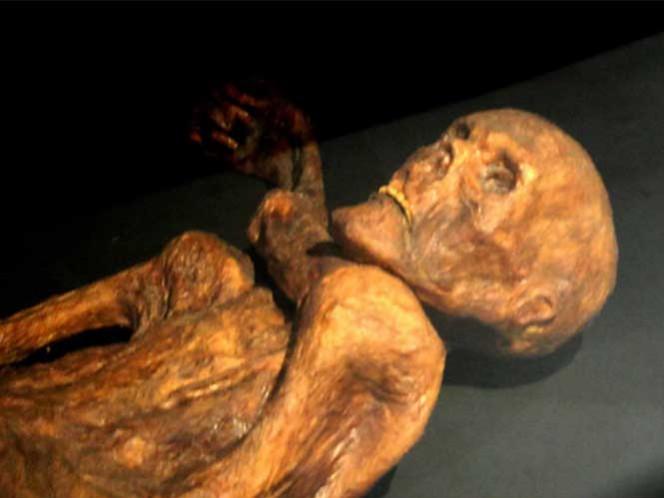 Hallan bacteria estomacal en momia del Neolítico