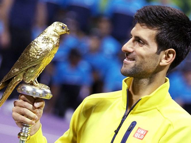 Djokovic arrolla a Nadal y se corona en Doha (Fotos: Reuters)