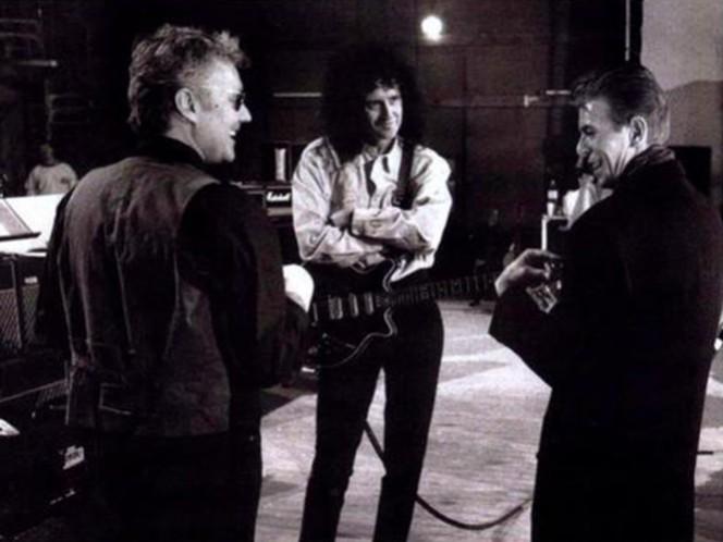 Bowie y Brian May fueron muy amigos y colaboraron en varias ocasiones, como cuando en 1981 grabaron con Queen la canción 'Under Pressure', que alcanzó el número uno en las listas de ventas. (Tomada de su página oficial)