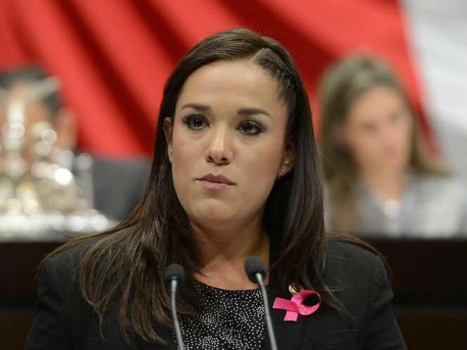 La legisladora del PAN, Arlette Muñoz Cervantes