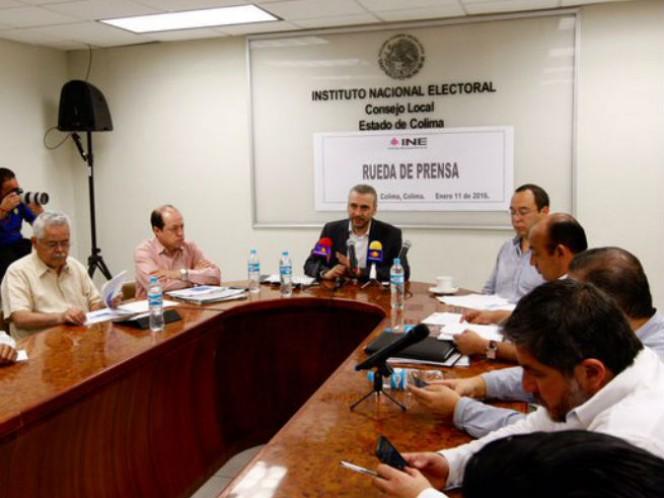 Consejeros del INE desearon que las próximas elecciones en Colima definan, en definitiva, quien será el gobernador de la entidad y que los contendientes respeten los topes de gasto de campaña