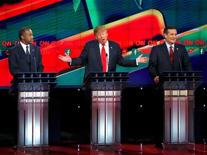Serán sólo siete candidatos en próximo debate republicano