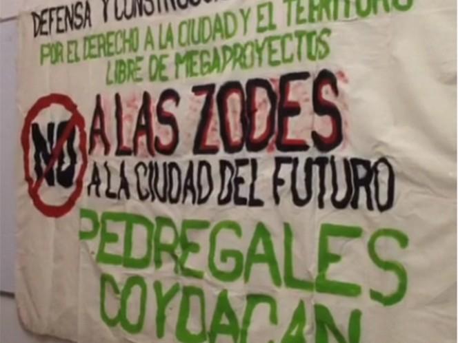 Vecinos solicitan devolución formal de predio en Coyoacán