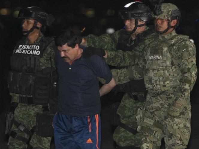 Traslado de Joaquín Guzmán Loera (Foto: Cuartoscuro)