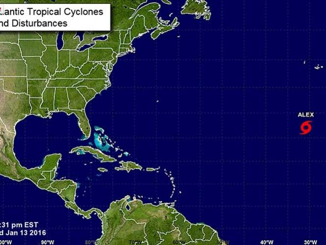 Se forma en el Atlántico inusual tormenta subtropical
