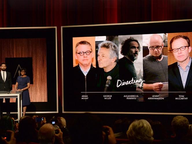 Alejandro G. Iñárritu está considerado en las categorías de Mejor Película y Mejor Director, y Leonardo DiCaprio como Mejor Actor, ambos con 'The Revenant'. (AP)