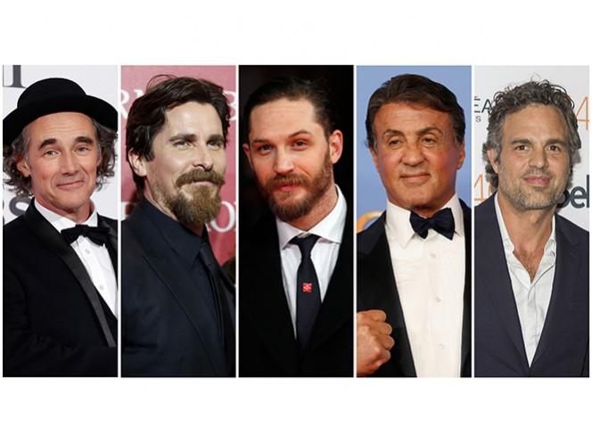 En la categoría de Mejor Actor compiten Mark Rylance, Christian Bale, Tom Hardy, Sylvester Stallone y Mark Ruffalo. (Reuters)