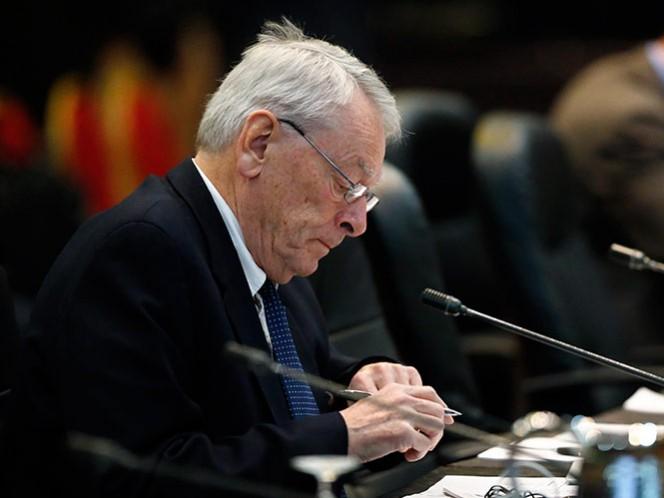 El informe fue escrito por el ex jefe de la AMA, Dick Pound, y presentado en una conferencia de prensa en Múnich (AP)