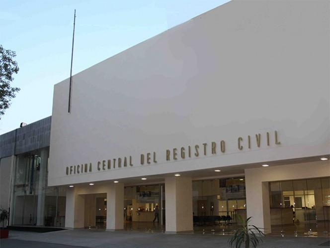 Luego de realizar la protesta y no recibir respuesta de las autoridades, los quejosos se retiraron del Registro Civil.