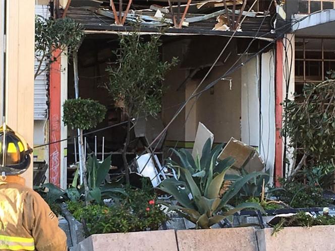 Esta mañana, se registró la explosión en una cafetería ubicada sobre la Avenida Félix Cuevas.