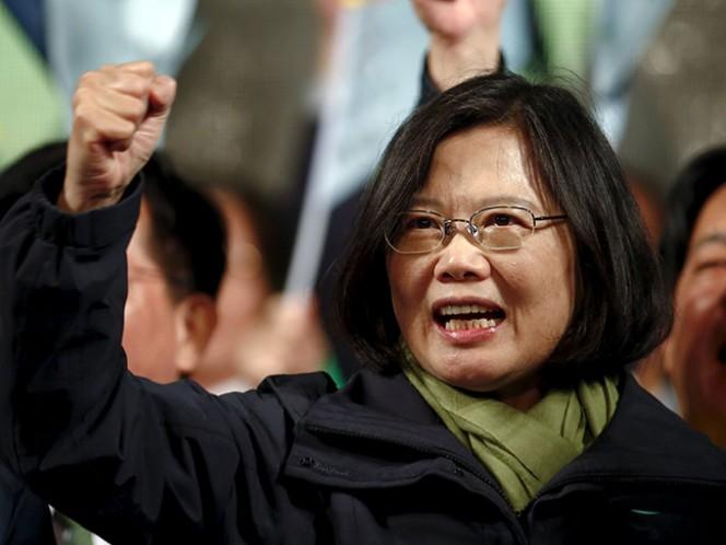 La victoria de Tsai introdujo nueva incertidumbre en la complicada relación entre Taiwán y China continental. Foto: Reuters