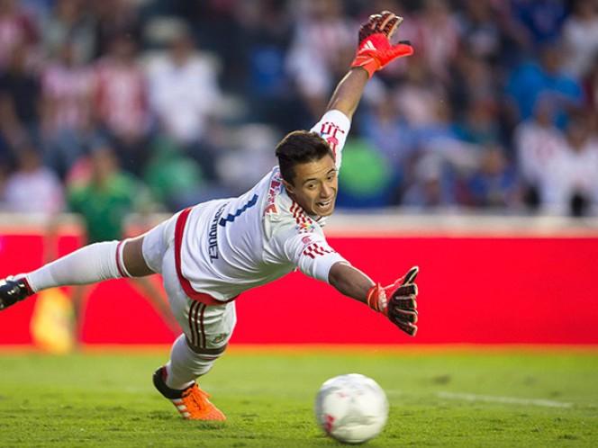 Antonio Rodríguez tuvo una gran actuación al salvar en varias ocasiones al cuadro rojiblanco (Mexsport)