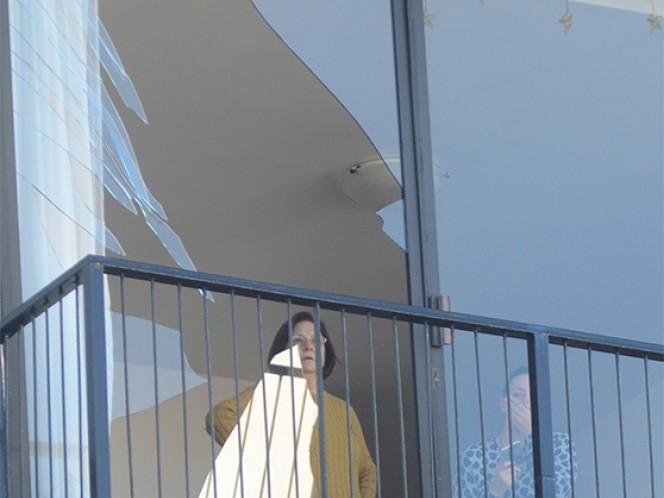 Vecinos del lugar comenzaron a retomar su vida normal luego de la explosión del viernes.