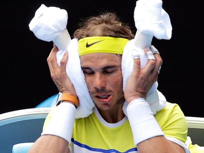 Nadal tiene dolorosa eliminación en primera ronda en Australia (Fotos: AP)