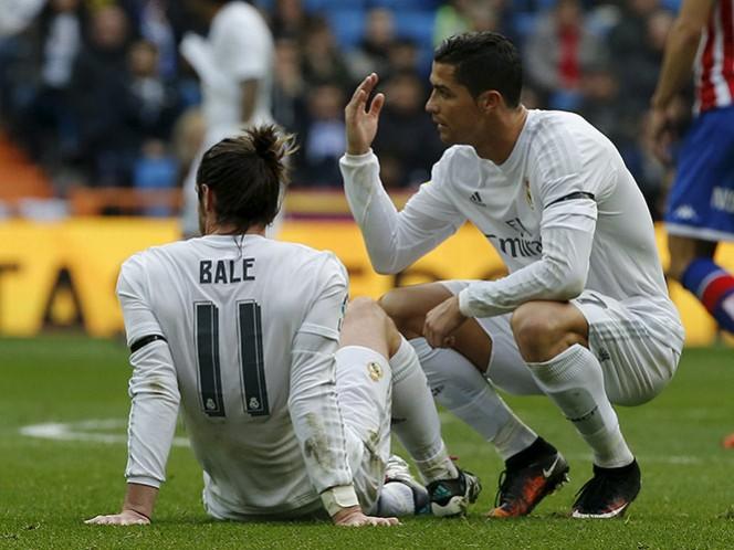 Bale se lesiona por tercera ocasión en la temporada (Reuters)