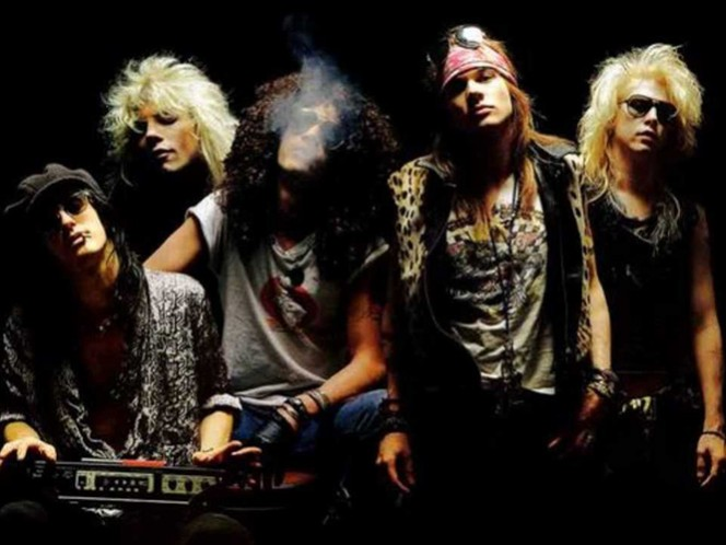 Algunos reportes de prensa indican que el grupo de 'las pistolas y las rosas' estaría en conversaciones para salir de gira en el Reino Unido y en Latinoamérica. (Geffen Records)
