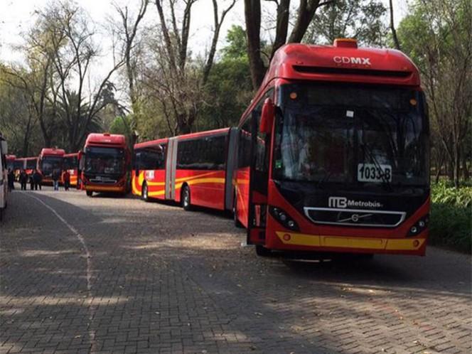 El jefe de Gobierno del Distrito Federal, Miguel Ángel Mancera, pondrá en marcha la Línea 6 del Metrobús.