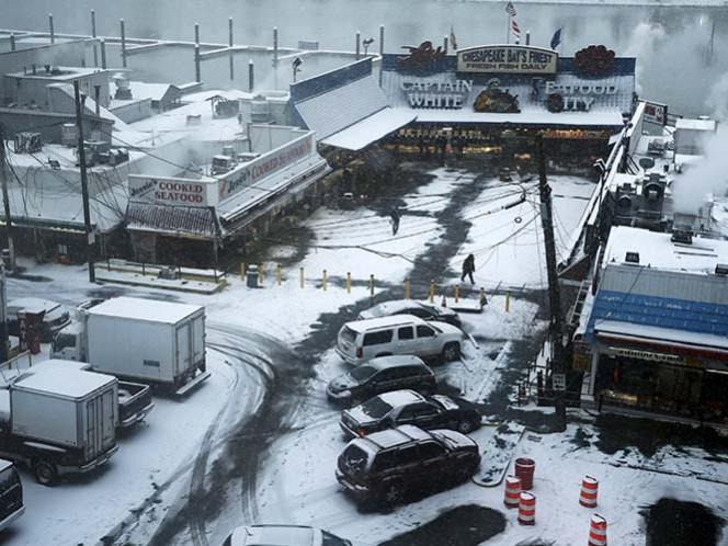 Nieve cubrirá la costa este de Estados Unidos por 36 horas